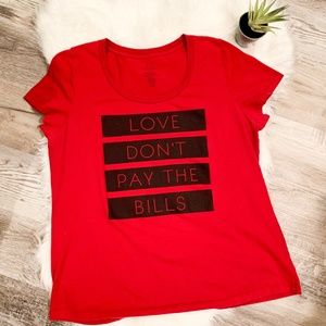 Torrid Love Don't Pay The Bills Tee